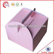 Best seller square carrier cardboard box