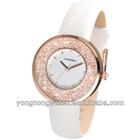 fashion lady watches with luxury stone bezel 2013