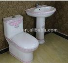 PINK DECOR ceramic toilet bathroom sanitary wares