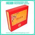 personalizados de alta calidad hechos a mano de alto grado de té de papel de embalaje caja de proveedor de china