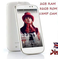 MTK Smart Phone THL W8S RAM 2GB ROM 32 GB THL W8S MT6589T Quad Core Android 4.2 THL W8S Android Mobile 3G