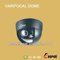 Plastic case for indoor 600tvl low price dome cctv camera