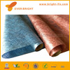 blue color polyester non woven flower wrapping paper
