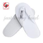 luxury terry cloth white thong slipper