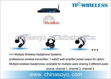 Rf multi- languags wireless simultanübersetzung Lösung für Konferenz-und meeting-system