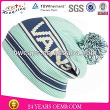 Wholesale custom design fashion knitted beret hat unisex 2014