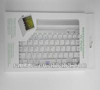 For iPad Mini Tablet Bluetooth Keyboard Wireless Aluminum Protector Keyboard Case