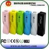 Fashional mini 2600mAh cell phone power bank portable charger