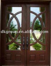 FACTORY SALE GOOD QUALITY steel door glass insert entry door