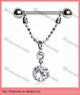 Promotional nipple piercing rings buy nipple piercing for Pierced nipple stretching jewelry