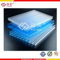 PC Hollow Sheets for Office Partition pc sheet for greenhouse skylights materials