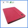 Leather flip case for ipad custom logo tablet pc case