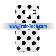 Fashionable Protective Soft Polka Dots TPU Case for Moto X XT1058 XT1055 XT1053