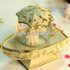 Polyresin+glass100mm,wedding favor water globes