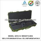 High Impact waterproof military carrying Gun Case
