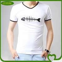Fashion gym tshirt hand painted t-shirts
