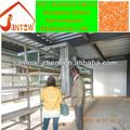 ucuz fiyat kuş kapanı kafes satılık otomatik nipel içme sistemi ve gübre temizleme sistemi