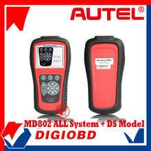 Original Autel Maxidiag Elite MD802 Pro All system DS Model (MD701+MD702+MD703+MD704) MD 802 Full System DS+EPB+OLS+Data Stream
