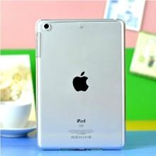 Crystal clear slim hard case for ipad mini 2