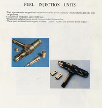 Fuel injection units