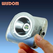 WISDOM cordless 2D diving 15m underwater 8000lux 128g 150lumen 2200mah cree led focus emergency light