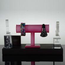 Hand model clear acrylic bracelet display stand shamballa