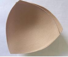 Fabric bra cup insert sponge padding triangle mat quality insert
