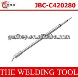 Gudhep Hot Type Soldering Tips Spain JBC-C420280 Tip Spain JBC Iron Tips