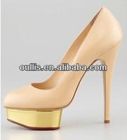 elegant shoes oullis platform dress shoes fashion high heels PJ2737