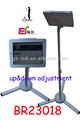 Estand br23018 pantalla soporte de suelo para ipad2/3/4/de aire comprimido con soporte de seguridad