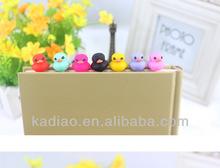 Yueya Yellow Duck Earphone Anti Dust Jack Plug Ear Cap Dock for iPhone Android 3.5mm