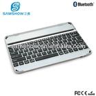 tablet pc case Aluminium Alloy bluetooth keyboard case for ipad air /5