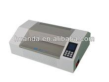 Advanced film laminator HD-3306C,we are manufacturer
