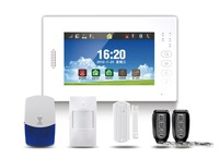 EB-839 Cheap 7 Inch Touch Screen Best Price GSM Intelligent Wireless House Alarm Systems