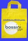 hot selling yellow bright t-shirt plastic bags
