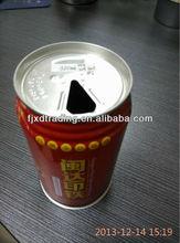 310ml tin can for Beverage Liang Tea Panda