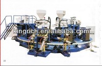 Two color rain boot injection moulding machine