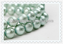 Glass matte beads jewelry for DIY beads kit for hobby