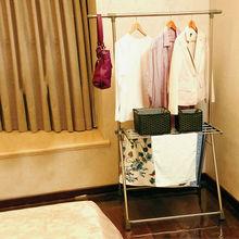 Ropa ropa BAOYOUNI ropa rack de secado estante estante del paño