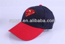 2014 wholesale children kids baby Superman sports baseball cap