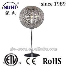 LED ball design wholesale table lamp acrylic beads decoraiton table lamp modern wedding decoration table lamp UL NS-121071-7