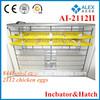 DIY egg incubator pigeon baskets AI-2112II for large farm use