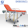 Auto loading emergency transport stretcher