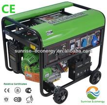 SUNRISE CE ISO biogas generator (SIEMENS ALTERNATOR,GAS ENGINE)