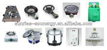 SUNRISE medium size 100m3 PUXIN alternative energy biogas digester /biogas cooker