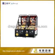 2013 hot DARDONWIN animation arcade shooter crazy coin operated uk simulator basketball game machine