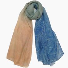 spring use spoondrift pattern ladies neck scarf