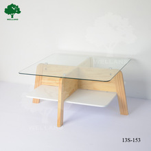 Torrey coffee table White an Natural J