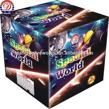 36 shots fireworks Cake for Christmas