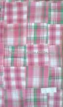 baju kurung madras cotton patchwork fabric